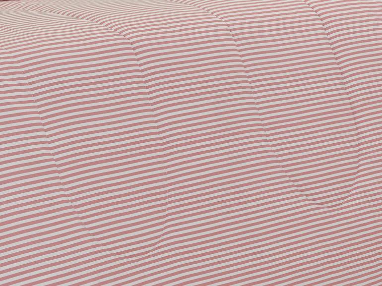 Edredom Solteiro Percal 200 fios - Ipsum Rosa Velho - Dui Design