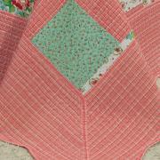 Kit: 1 Cobre-leito Solteiro Bouti de Microfibra Ultrasonic Estampada + 1 Porta-travesseiro - Isadora Vermelho - Dui Design