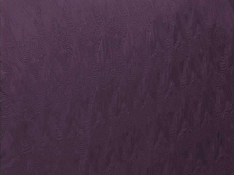 Kit: 1 Cobre-leito Solteiro Bouti de Microfibra Ultrasonic + 1 Porta-travesseiro - Istambul Albergine - Dui Design
