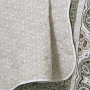 Kit: 1 Cobre-leito Queen + 2 Portas-travesseiro 150 fios - Jacques - Teka