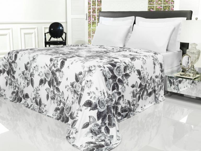 Cobertor Avulso King Flanelado com Estampa Digital - Jardim Secreto - Dui Design