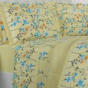 Jogo de Cama King 150 fios - Joice Marfim - Dui Design