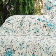 Enxoval Solteiro com Cobre-leito 5 peças 150 fios - Jordania Bege - Dui Design