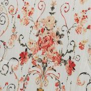 Edredom Solteiro 150 fios - Jordania Marfim - Dui Design