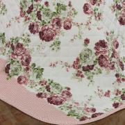 Kit: 1 Cobre-leito Casal + 2 Porta-travesseiros 150 fios - Josy Rosa - Dui Design