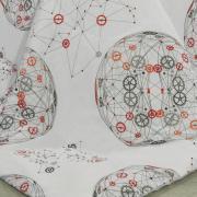Jogo de Cama Queen 150 fios - Julius Cinza - Dui Design