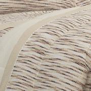 Jogo de Cama Casal 150 fios - Júpiter Bege - Dui Design