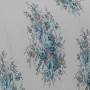Jogo de Cama Casal 150 fios - Karla Azul - Dui Design