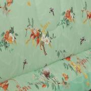 Edredom King 150 fios - Keiko Verde - Dui Design