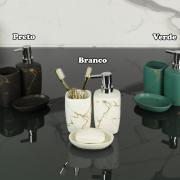 Kit para Bancada de Banheiro em Porcelana 3 Peças - Luxor - Dui Design