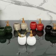 Kit para Bancada de Banheiro em Cerâmica 2 Peças - Paris - Dui Design