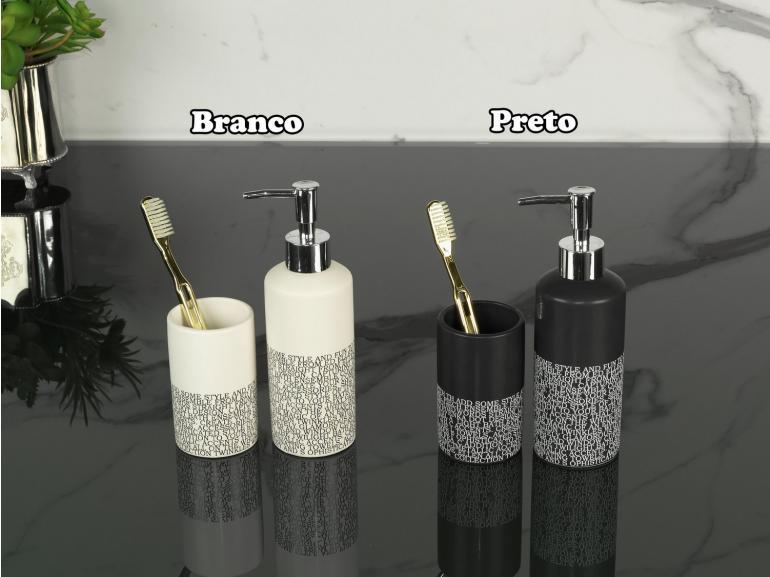 Kit para Bancada de Banheiro em Dolomite 2 Peças - Urbano - Dui Design