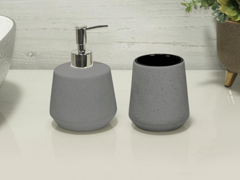 Kit para Bancada de Banheiro em Cerâmica 2 Peças - Bristol - Dui Design