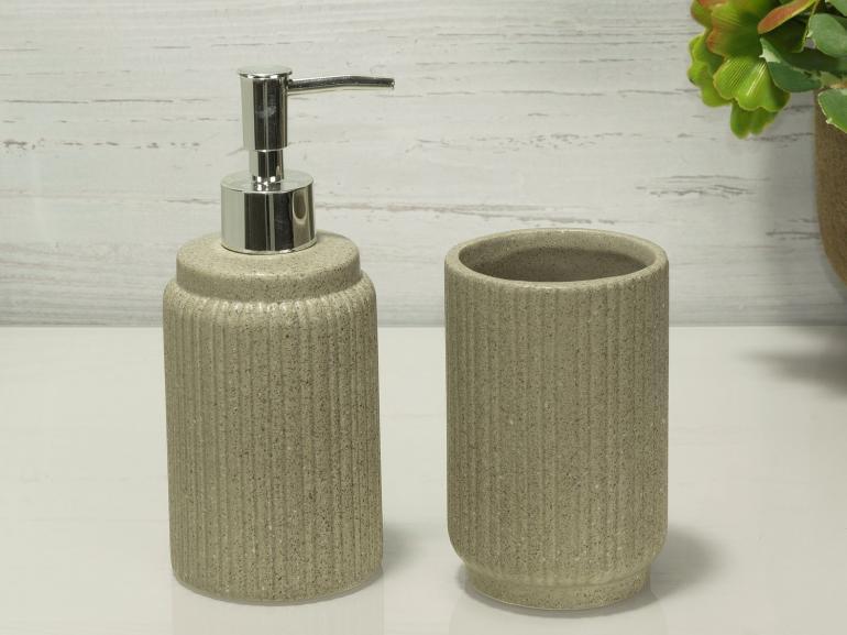 Kit para Bancada de Banheiro em Dolomite 2 Peças - Toronto - Dui Design