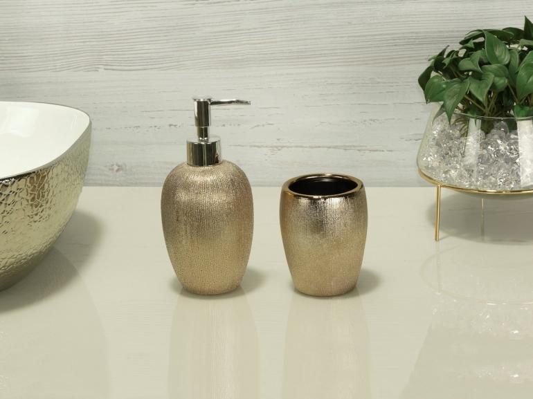 Kit para Bancada de Banheiro em Porcelana 2 Peças - Glamour - Dui Design