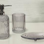 Kit para Bancada de Banheiro em Vidro 3 Peças - Basic - Dui Design