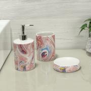Kit para Bancada de Banheiro em Dolomite 3 Peças - Wave - Dui Design