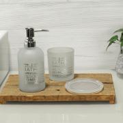 Kit para Bancada de Banheiro em Vidro 3 Peças - New York - Dui Design
