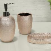Kit para Bancada de Banheiro em Porcelana 3 Peças - Glamour - Dui Design