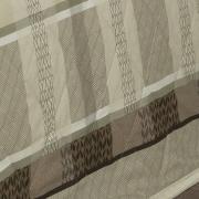Kit: 1 Cobre-leito Solteiro + 1 Porta-travesseiro Percal 200 fios - Laguna Castanho - Dui Design