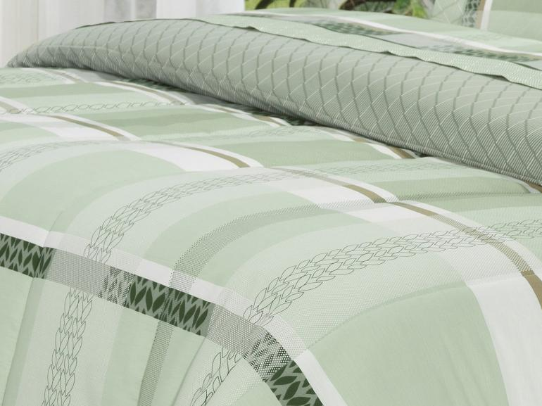 Edredom Solteiro Percal 200 fios - Laguna Confrei - Dui Design