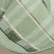 Kit: 1 Cobre-leito Solteiro + 1 Porta-travesseiro Percal 200 fios - Laguna Confrei - Dui Design