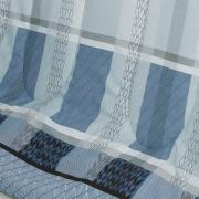 Edredom Solteiro Percal 200 fios - Laguna Indigo - Dui Design