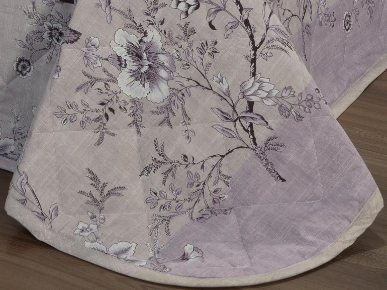 Kit: 1 Cobre-leito Solteiro + 1 Porta-travesseiro Percal 200 fios - Laura Albergine - Dui Design