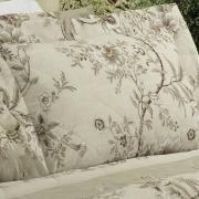 Kit: 1 Cobre-leito Solteiro + 1 Porta-travesseiro Percal 200 fios - Laura Linho - Dui Design