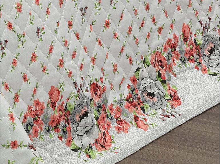 Kit: 1 Cobre-leito Casal + 2 Porta-travesseiros 150 fios - Lavinia Carmim - Dui Design