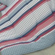 Jogo de Cama Casal Percal 180 fios - Led Azul - Dui Design