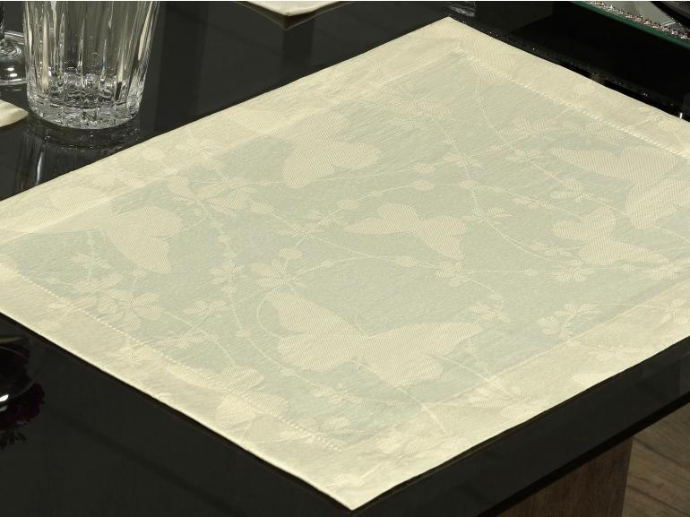 Jogo Americano 4 Lugares (4 peças) Fácil de Limpar 35x50cm - Liberty Vanilla - Dui Design