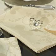 Kit: 4 Guardanapos 50x50cm - Liberty Vanilla - Dui Design