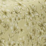 Edredom Solteiro 150 fios - Lidia Amarelo - Dui Design