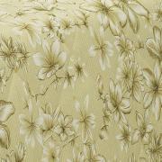 Enxoval King com Cobre-leito 7 peças 150 fios - Lidia Amarelo - Dui Design