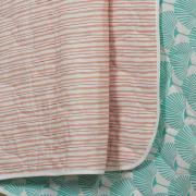 Kit: 1 Cobre-leito Casal + 2 Portas-travesseiro 150 fios - Lilian - Teka