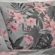 Jogo de Cama Casal 150 fios - Lility Cinza - Dui Design