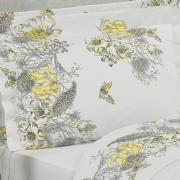 Edredom King Percal 180 fios - Linda Cinza - Dui Design