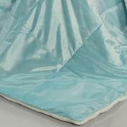 Edredom Solteiro Pele de Carneiro e Plush Micromink- Sherpa Londres Azul Cool - Dui Design