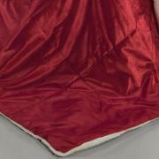 Edredom Solteiro Pele de Carneiro e Plush Micromink- Sherpa Londres Chilli Pepper - Dui Design