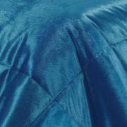 Edredom Casal Pele de Carneiro e Plush Micromink - Sherpa Londres Nautical - Dui Design