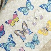 Kit: 1 Cobre-leito Casal + 2 Porta-travesseiros Percal 200 fios - Luna Camurça - Dui Design