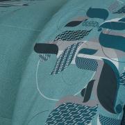 Jogo de Cama Queen Percal 180 fios - Luther Petroleo - Dui Design