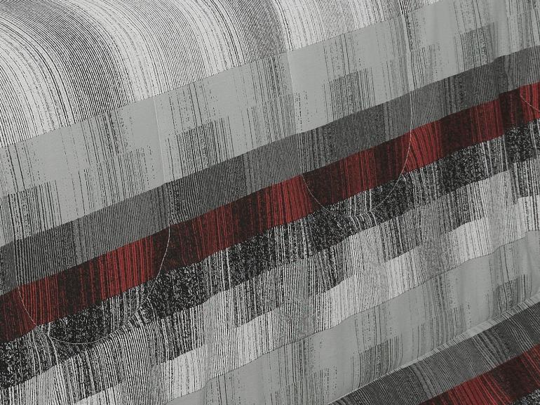 Jogo de Cama Casal Percal 180 fios - Luzon Cinza - Dui Design