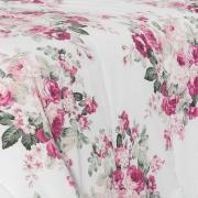 Jogo de Cama Casal 150 fios - Mabelle Rosa - Dui Design