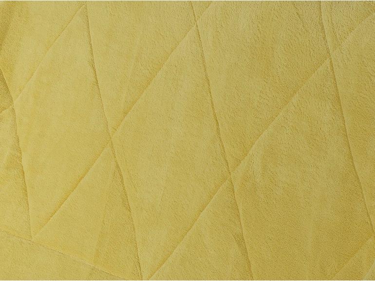 Edredom Casal Pele de Carneiro e Plush - Sherpa Madrid Amarelo - Dui Design