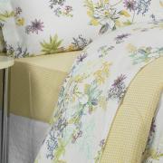 Jogo de Cama Casal 150 fios - Maelle Vintage - Dui Design
