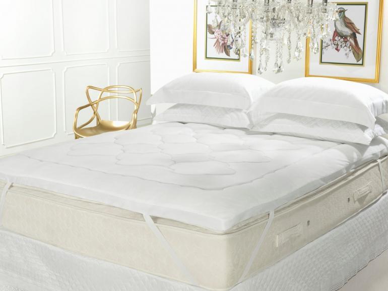 Pillow Top Flanelado Solteiro Fibra Siliconizada Super Volumosa 600 gramas/m² - Magestic - Dui Design