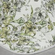 Enxoval Solteiro com Cobre-leito 5 peças Percal 200 fios - Maili Cinza - Dui Design