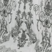 Jogo de Cama Casal Percal 180 fios - Maison Cinza - Dui Design